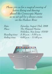 Cruise Wedding Invitations Invitations