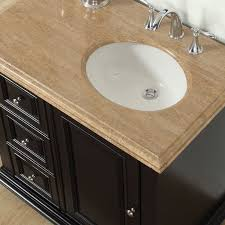 bathroom vanity with sink on right side silkroad exclusive 36 single bathroom vanity set with sink on right