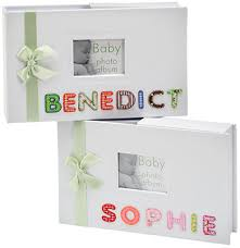 Photo Album Box Personalised Baby Albums Keepsake Boxes U0026 Photo Frames By Bundles