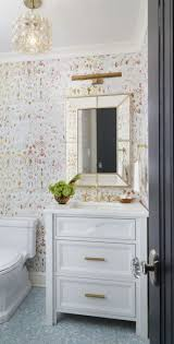 bathroom white porcelain sink wooden frame mirror bathroom