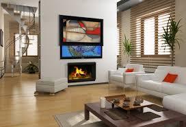 media décor eclipse vertical art lift contemporary living room