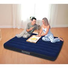 Bed Full Home Source Intex Downy Air Full Bed W 4d Cell Pump Walmart Com