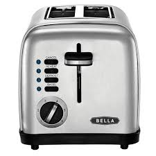 Cubs Toaster Bella 2 Slice Toaster Brushed Stainless Steel Shopko