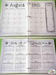 Wedding Planner Calendar Printable Calendar 5 Day Calendar 5 Day Weekly Planner Teacher