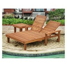 Patio Chaise Lounges Belham Living Batiki Sun Bed Double Chaise Lounge With Cushion