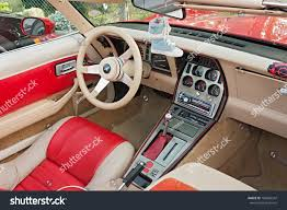 corvette dashboard cervia ra italy may 12 vintage stock photo 103854347 shutterstock