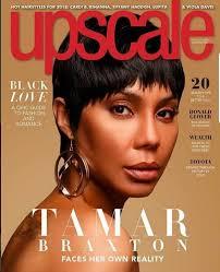 short hair style guide magazine tamar braxton debuts short hairstyle gigantic tattoo in magazine