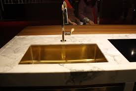 Gold Kitchen Sink Kitchen Sink Styles Showcased At Eurocucina