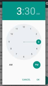timepicker android android time picker issue stack overflow