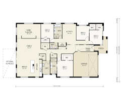 Metricon Floor Plans Single Storey by Bondi From Montgomery Homes