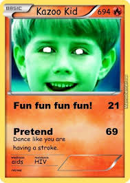 Pokemon Kid Meme - kazoo kid pokemon card by okgamez meme center