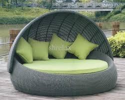 outdoor furniture round bed outdoor round bed sofa of garden