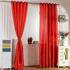 Blackout Window Curtains Compare Prices On Solid Satin Curtains Online Shopping Buy Low