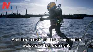 underwater welding mechanism requirements getting the