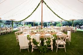 wedding design ideas for both bare and covered reception tables