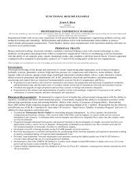 Functional Resumes Examples by College Students Job Hunting Tips And Resources