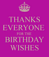 a thank you note for birthday wishes thank you notes