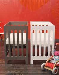 Mini Cribs by Alma Mini Solid Wood Crib U2013 Bloom