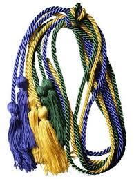 honor cords graduation honor cords stoles the honor cord company