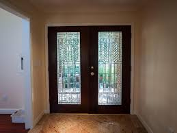 impressive exterior double glass doors contemporary entry doors