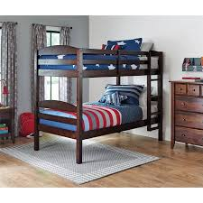Better Homes And Gardens Leighton Twin Over Twin Wood Bunk Bed - Matresses for bunk beds