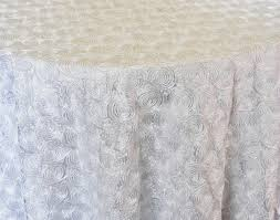 rental table linens rental table linen satin rosette tablecloth white a