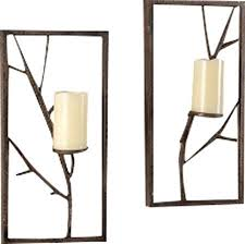 Flameless Candle Wall Sconce Wall Sconce Set Slwlaw Co