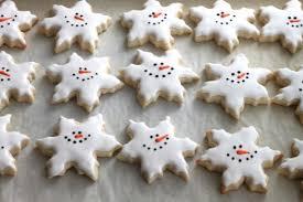 snowflake cookies snowman snowflake cookies created by diane