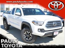 new 2017 toyota tacoma trd offroad 4d access cab in crystal lake