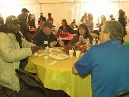 catholic center hosts community thanksgiving dinner abc