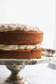 gluten free vanilla layer cake u0026 vegan cherry rose frosting