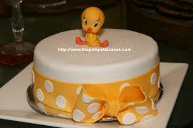 tweety bird baby shower cake fairytale cakes flickr
