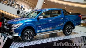 adventure mitsubishi 2017 mitsubishi triton updated adds esc and 7 airbags priced from