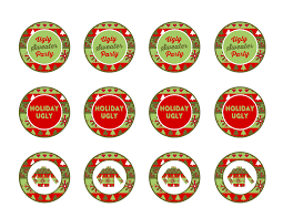 free ugly sweater party printables catch party