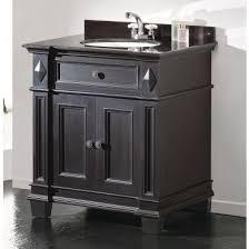 31 Bathroom Vanity Decors Essex 31 Inch Single Sink Bathroom Vanity In Antique Black