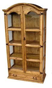 Mexican Rustic Bedroom Furniture Curio China Cabinet Texas Rustic Wholesale Pine Furniture Mexico
