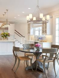 kitchen faucets nyc york table kitchen transitional with silver pendant