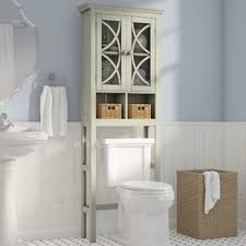 Bathroom Toilet Cabinet The Toilet Storage Cabinets Wayfair