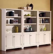 Glass Door Bookshelves by Bookshelf With Doors Glass Black Wooden Coffin Bookcase With