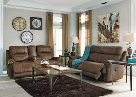 Brown Recliner Sofa Signature Design By Austere Brown 2 Seat Reclining Sofa