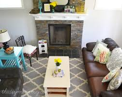 Diy House Our U201crustic Glam Farmhouse U201d Living Room U2013 Our Diy House The Diy