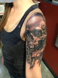 amazing skull tattoos seventhsontattoo u201c i had such a great time with this one thanks