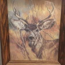 home interiors deer picture best home interiors framed deer preowned for sale in mcdonough