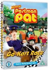 postman pat kart race dvd zavvi
