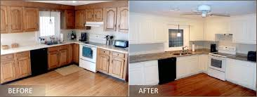 kitchen cabinet refacing before and after photos refinishing kitchen cabinets before and after photos