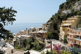 wallpapers cities italy amalfi street houses