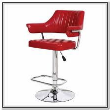 Red Bar Stools With Backs Stools Home Design Ideas