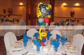 batman centerpieces mad about balloons