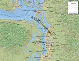 Map Of Seattle Airport by Seattle U0027s Faults Maps That Highlight Our Shaky Ground Kuow News