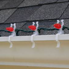 how to hang christmas lights on gutters how to hang christmas lights on gutters